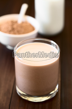 chocolate milk drink