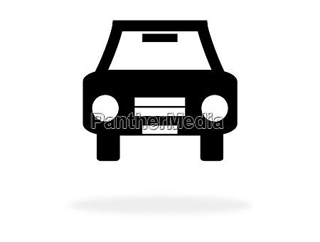 auto-symbol, für, autovermietung - 26957850