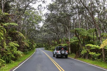 usa hawaii volcanoes national park off
