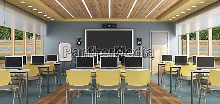 modernes multimedia klassenzimmer