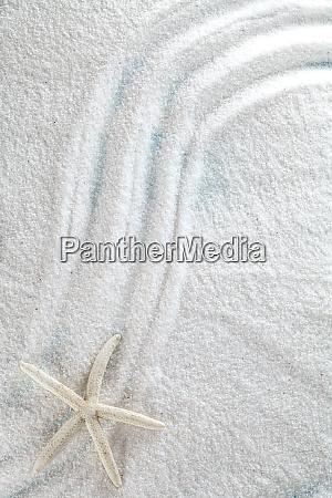 sand on wood background