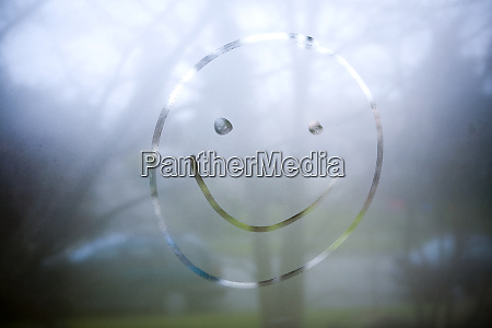 smiley face on window seattle washington