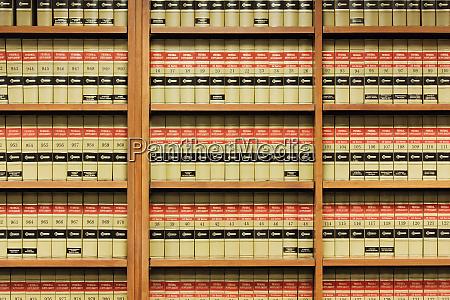 regale von law books