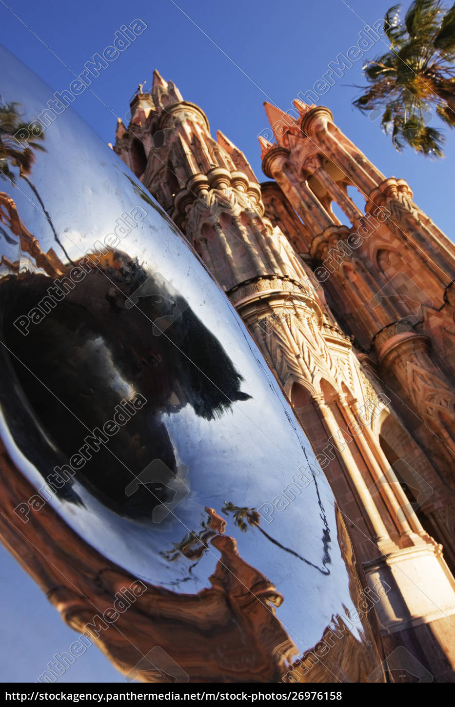 building, with, reflection - 26976158