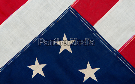 independence day american flag close up