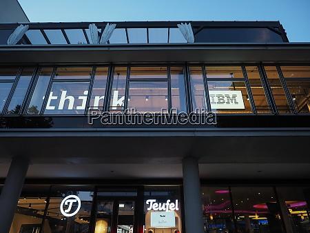 ibm filiale in berlin