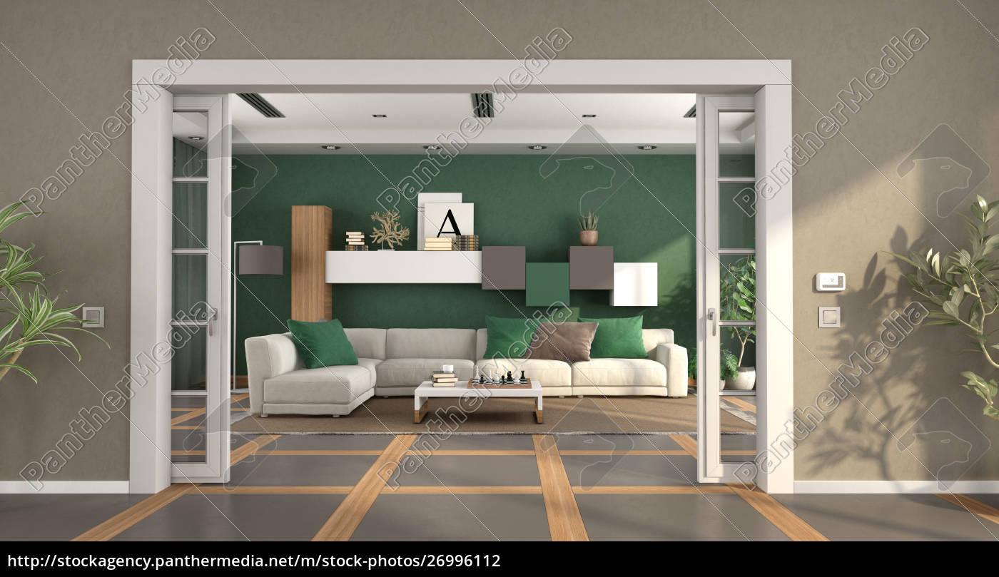 Lizenzfreies Foto 21   Modernes Wohnzimmer mit