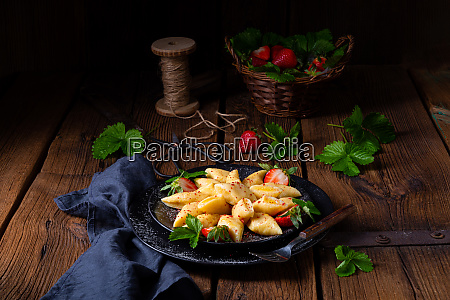 kopytka polish potato dumpling with