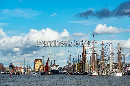 windjammer, auf, der, hanse, sail, in - 27007935
