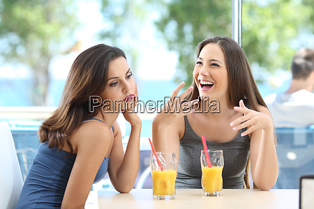 bored woman suffering a bad conversation