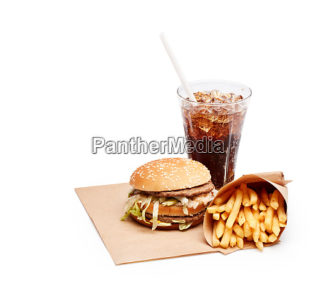 fast food mahlzeit