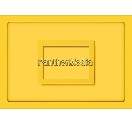 yellow frames on yellow background