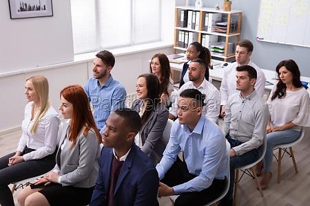 kongress menschen treffen unternehmen verschiedene training