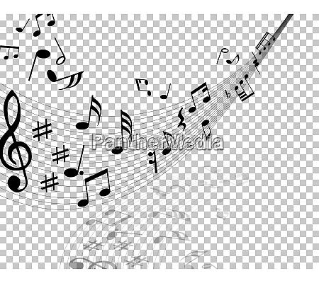 vector, notes-design - 27023727