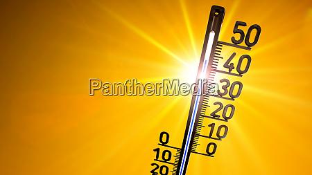 heisser sommer oder hitzewelle hintergrund gluehende