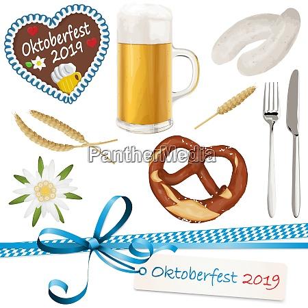 sammlung oktoberfest objekte 2019
