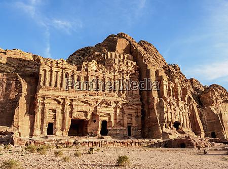palace and corinthian tombs petra unesco