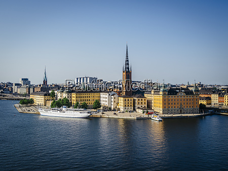 city of stockholm in sweden