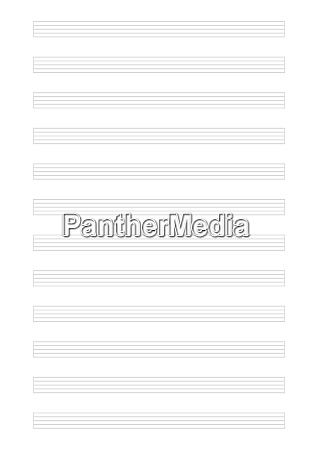 empty music template with 12 x