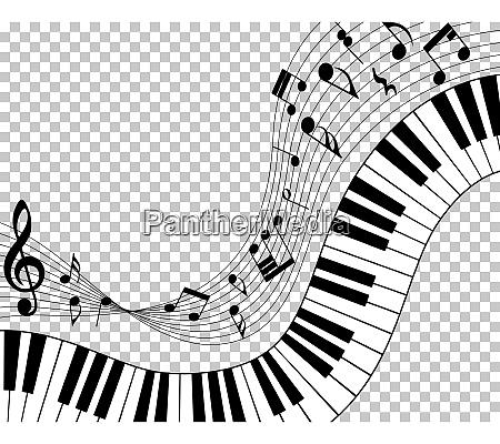 musikalische note personal