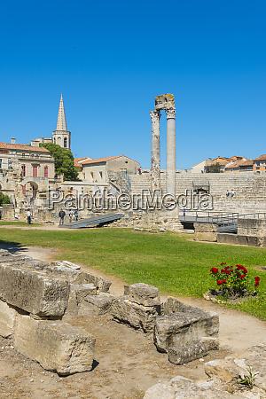 arles roman ruins arles unesco world