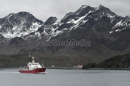 british antarctic surveys research vessel james