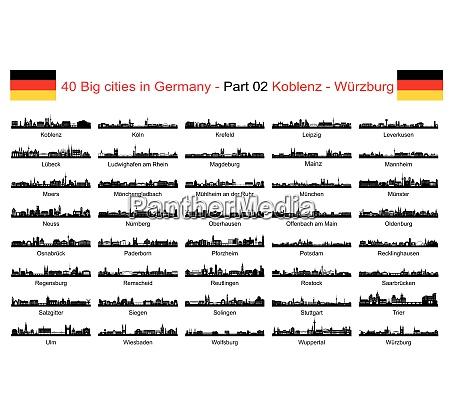 40 grossstaedte in deutschland teil
