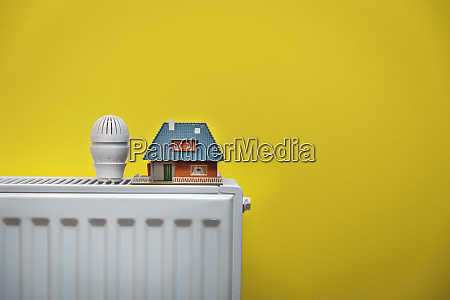 house heating system white radiator