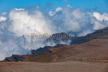landschaft des bale mountain
