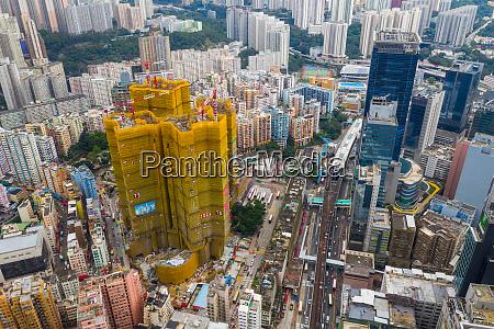 kwun tong hongkong 02 juni 2019