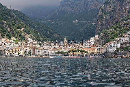 amalfi town campania