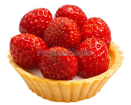 strawberry tart dessert paths