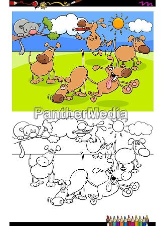 malbuch aktivitaet cartoon illustration vorschule bildung