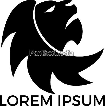 loewenkopf logo vektor design