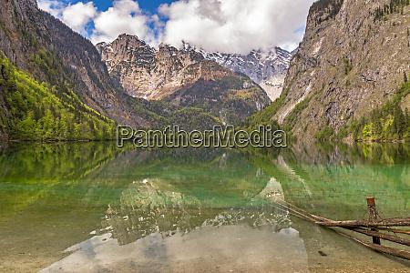 obersee bei berchtesgaden bayern deutschland