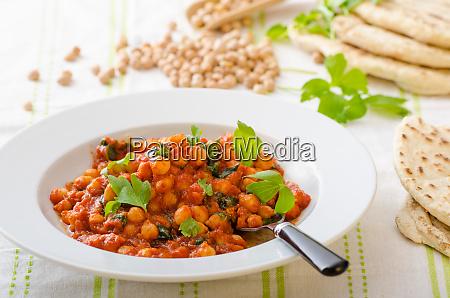 spinat kichererbsencurry