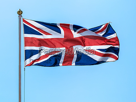 the flags of the great britain