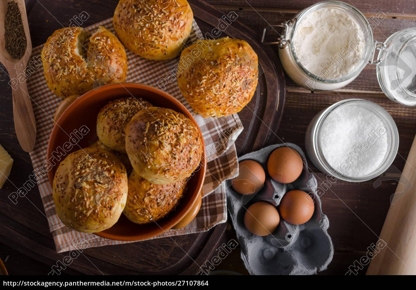 homemade, cheese, buns - 27107864