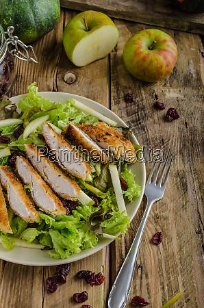 waldort salad with grilled chicken