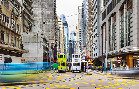 trams in hong kong central hong