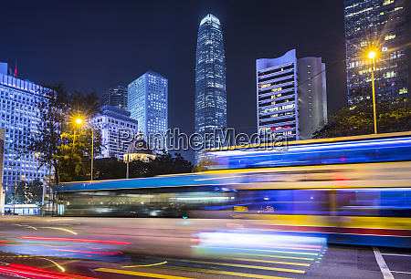 hong kong central bei nacht hongkong