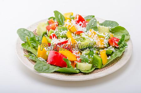 mixed salad vegetable salad