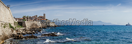 panoramic of antibes france