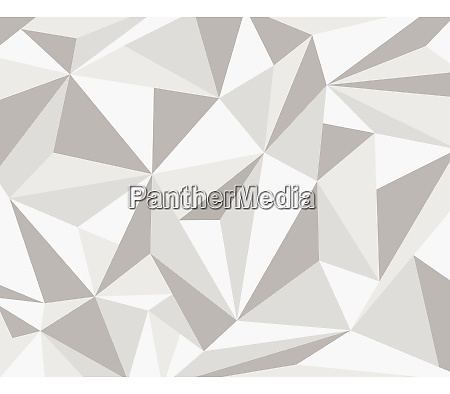 abstract white gray polygonal geometric background