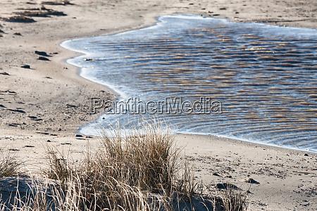 wasser am strand von schillig
