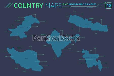 indien pakistan bangladesch iran und nepal