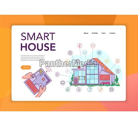 smart house internet der dinge intelligente