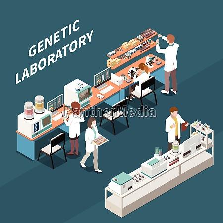 gruppe von wissenschaftlern die in genetischen