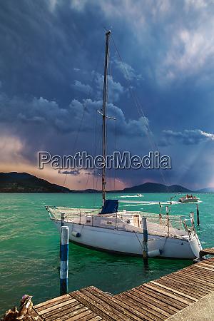 yacht am iseo lake