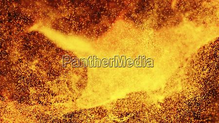 volcano hot background volcanic magma fire